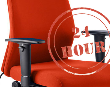 24hr Fabric Chairs