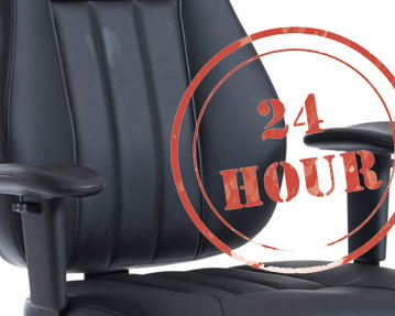 24hr Leather Chairs