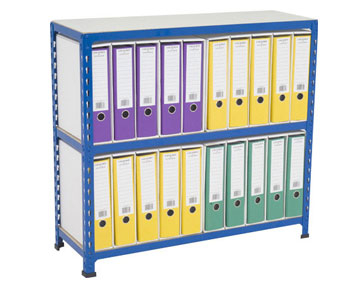 Shelving with Files