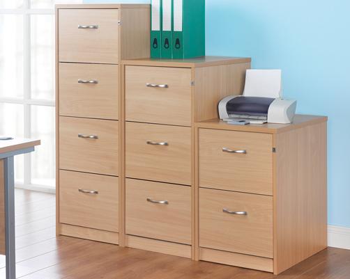 Wood Filing Cabinets